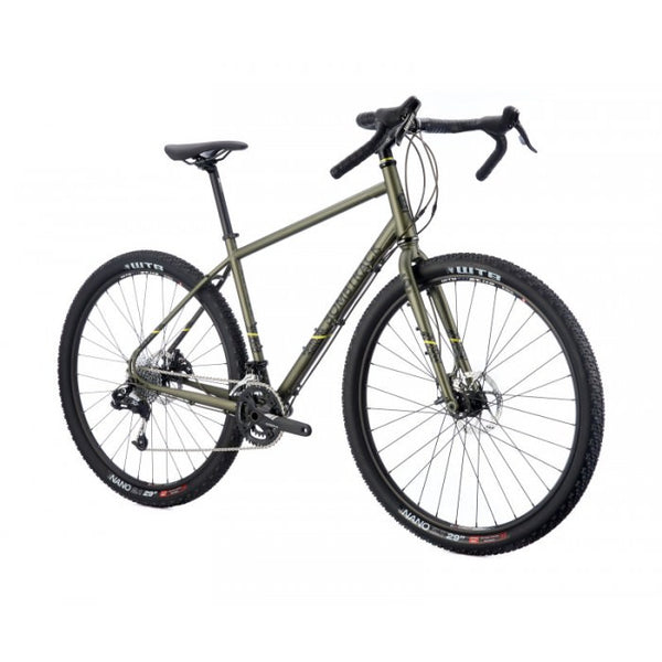 Bombtrack Beyond 700C Touring Bicycle Metallic Green