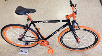 Caraci Fixed Gear Fixies F2.0 Black Orange