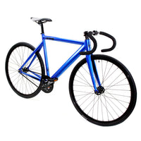 Zycle Fix Prime Alloy ANODIZED BLUE Fixie Fixed Gear Track Bike