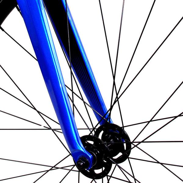 Zycle Fix Prime Alloy BLUE Fixie Fixed Gear Track Bike