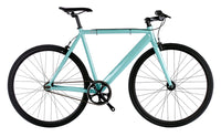 6KU Urban Track Bike Fixed Gear Bike CELESTE