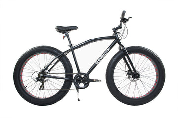 Alton MAMMOTH Fat Tire Bike - Black