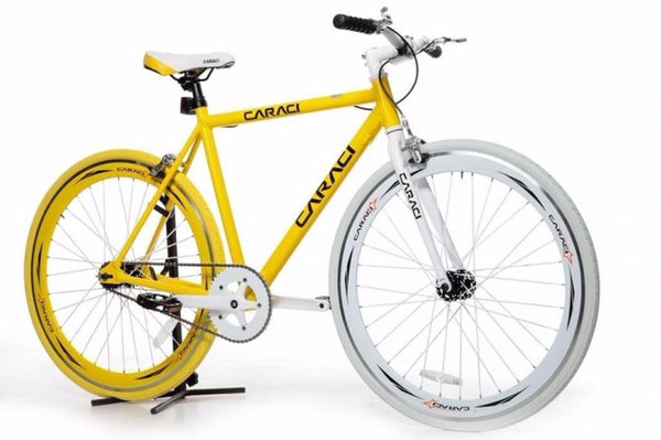 Yellow Caraci F1.0 Fixie