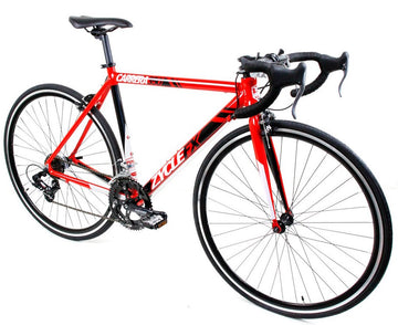 Zycle Fix Carrera 350 Road Bike Red