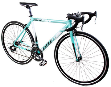 Zycle Fix Carrera 350 Road Bike Celestial