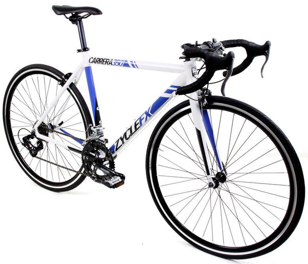 Zycle Fix Carrera 350 Road Bike White