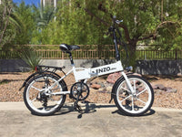 Enzo e-Bike Folding Electric Bicycle BLACK