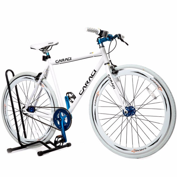 Caraci F2.0 White Blue Fixie