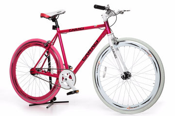 Caraci Fixed Gear Fixies F1.0 Pink White