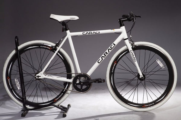 White Black Caraci F1.0 Fixie