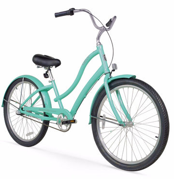"Firmstrong CA520 Alloy 3 Speed 26"" Lady's Aluminum Beach Cruiser Bike"