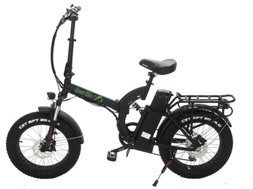 Green Bike USA GB750 Fat Tire Electric Folding Bike