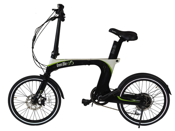 Green Bike USA Carbon Light Electric Folding Bike