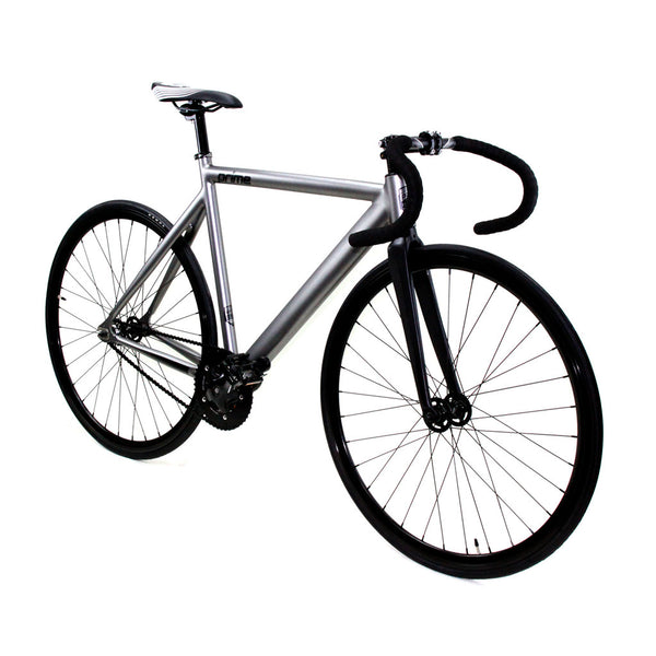 Zycle Fix Prime Alloy METALLIC GRAY Fixie Fixed Gear Track Bike
