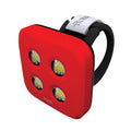 Blinder 4 Dots W-Lt Red