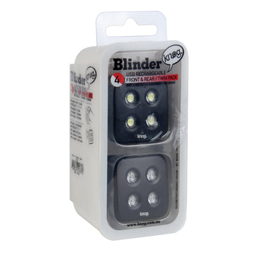 Blinder 4 Dots Twinpack Black