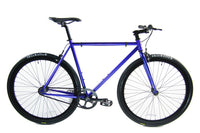 Loco Cycles Loco Fixie The Deep Blue Frame with Gloss Black Rims