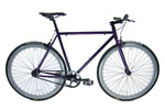 Loco Cycles Loco Fixie The Purplicious Purple Frame with Sky Grey Rims