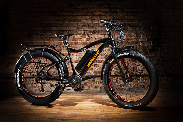 Biktrix Juggernaut Mid Motor Drive Electric Fat Tire Bike 500W or 1000W Motor