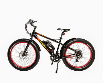 Biktrix Juggernaut HD Rear Hub Motor Electric Fat Tire Bike  500w Motor