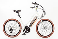 Biktrix Stunner Step Thru Ultimate Electric Cruiser Bike 500 watts Mid Mounted Gear Motor Electric Bicycle