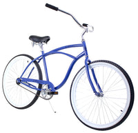 Zycle Fix Classic Men Blue Beach Cruiser 26""
