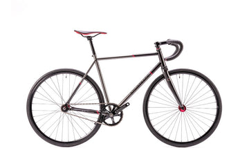 Bombtrack Needle 700C Track Bicycle Metallic Grey 2 Tone