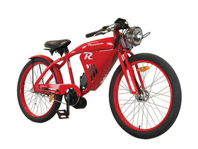 Phantom Bikes R Electric Classic Cruiser Electric Bicycle