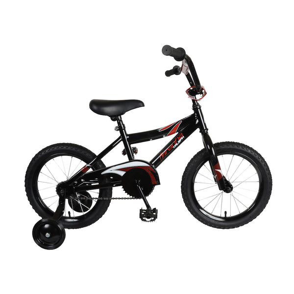 Piranha Tailspin Black 16 Kids Bicycle