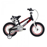 RoyalBaby Space No. 1 Black 12 inch Kids Bicycle