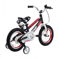 RoyalBaby Space No. 1 Black 14 inch Kids Bicycle