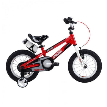RoyalBaby Space No. 1 Red 12 inch Kids Bicycle