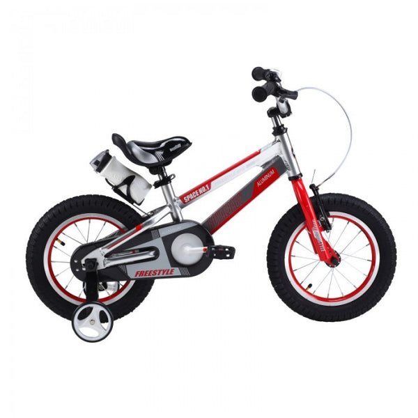 RoyalBaby Space No. 1 Silver 12 inch Kids Bicycle