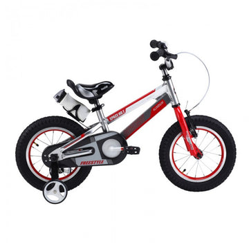 RoyalBaby Space No. 1 Silver 18 inch Kids Bicycle