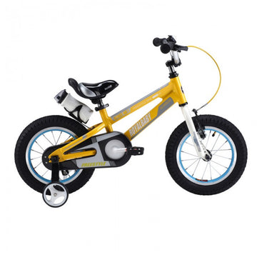 RoyalBaby Space No. 1 Yellow 12 inch Kids Bicycle