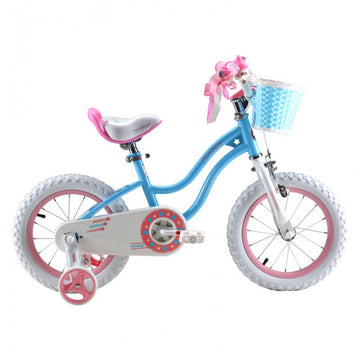 RoyalBaby Stargirl Blue 12 inch Kids Bicycle