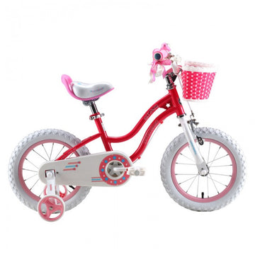 RoyalBaby Stargirl Pink 14 inch Kids Bicycle