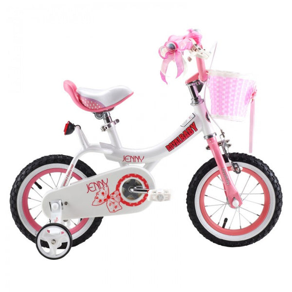 RoyalBaby Jenny Pink 12 inch Kids Bicycle