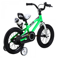 RoyalBaby Freestyle Green 12 inch Kids Bicycle