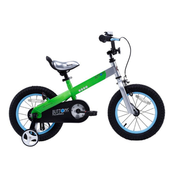 Royalbaby Matte Buttons 12 inch Green Kids Bike