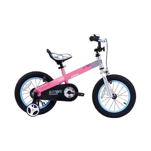 Royalbaby Matte Buttons 12 inch Pink Kids Bike