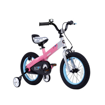 Royalbaby Matte Buttons 14 inch Pink Kids Bike