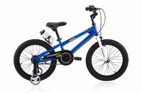RoyalBaby Freestyle Blue 18 inch Kids Bicycle