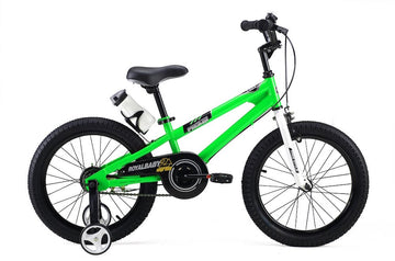 RoyalBaby Freestyle Green 18 inch Kids Bicycle
