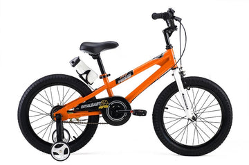 RoyalBaby Freestyle Orange 18 inch Kids Bicycle