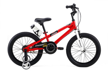 RoyalBaby Freestyle Red 18 inch Kids Bicycle