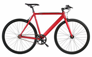 6KU Urban Track Bike Fixed Gear Bike RED