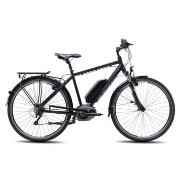 Steppenwolf Transterra M.E1 Electric Bicycle - Matte Black