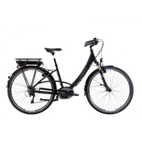 Steppenwolf Transterra Wave E1 Electric Bicycle Step-Thru - Matte Black