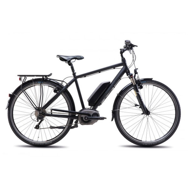 Steppenwolf Transterra M.E2 Electric Bicycle - Matte Black